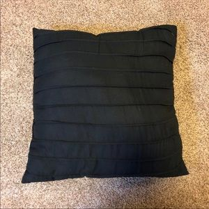 Black Accent Pillow